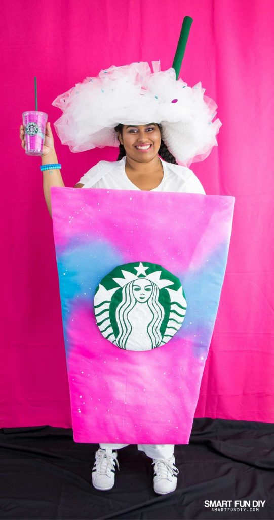 Diy unicorn frappuccino costume no longer on the menu at starbucks the unicorn frap can live on this halloween bring it back from the dead with this diy unicorn frappuccino costume solutioingenieria Choice Image
