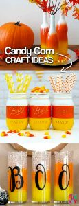 20 Candy Corn Craft Ideas! Awesome Candy Corn Crafts! Easy DIY candy corn crafts