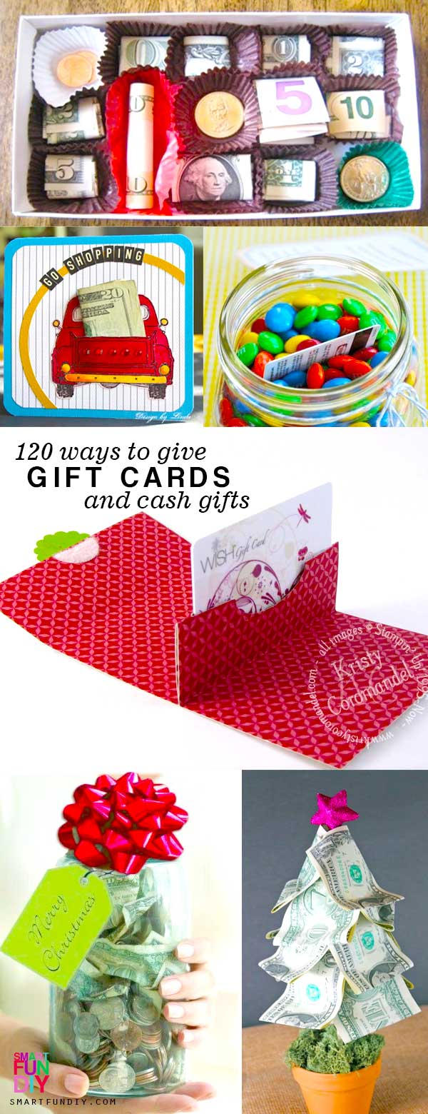 Creative Ways To Give Gift Cards - Gift Ideas