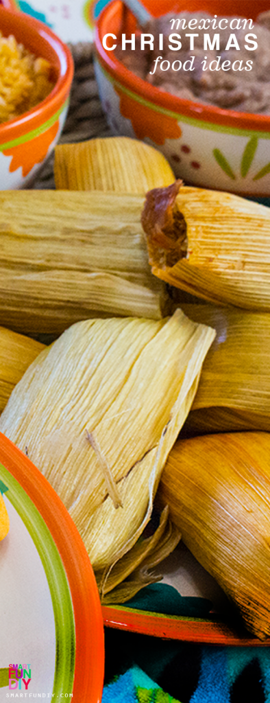 Christmas Traditions of Mexico ... Mexican Christmas Traditions the whole family will love from Mexican Food Recipes like tamales to Mexican Ornaments and Christmas Traditions #SmartFunDIY #MexicanFood #tamales #FelizNavidad #ChistmasTraditions