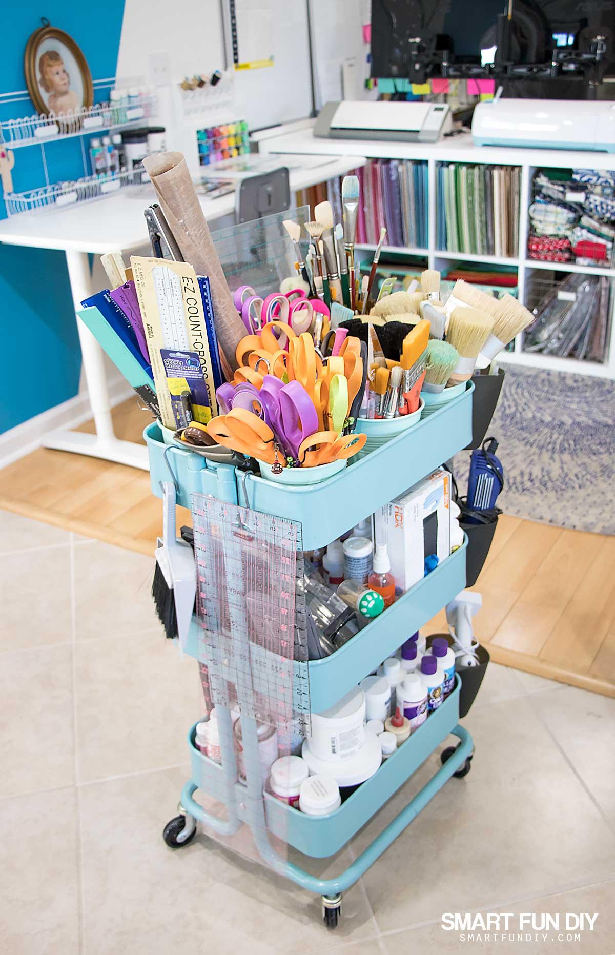 25 Raskog Ikea Cart Hacks For Crafts Smart Fun Diy