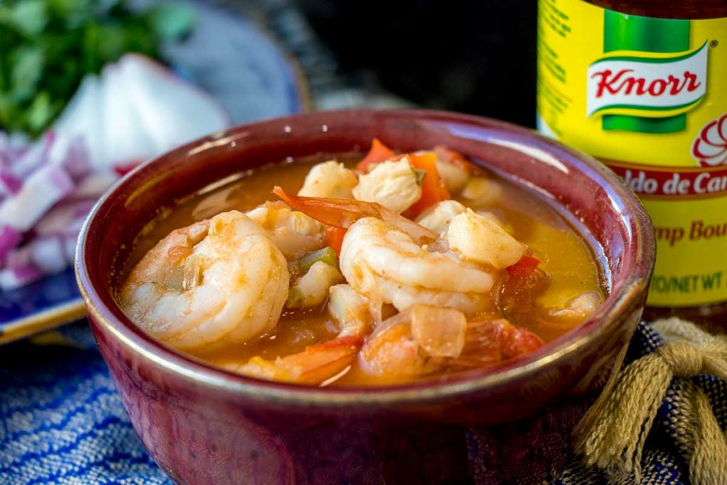 Easy shrimp pozole recipe for lent 30 minute meal smart fun diy easy shrimp pozole recipe forumfinder Image collections