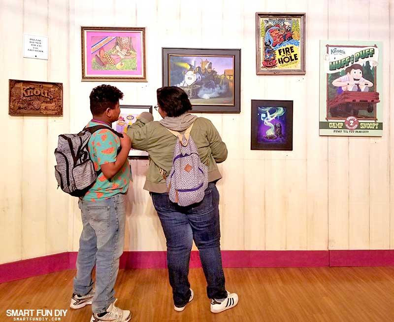 Boysenberry Art Gallery at Knott's Berry Farm