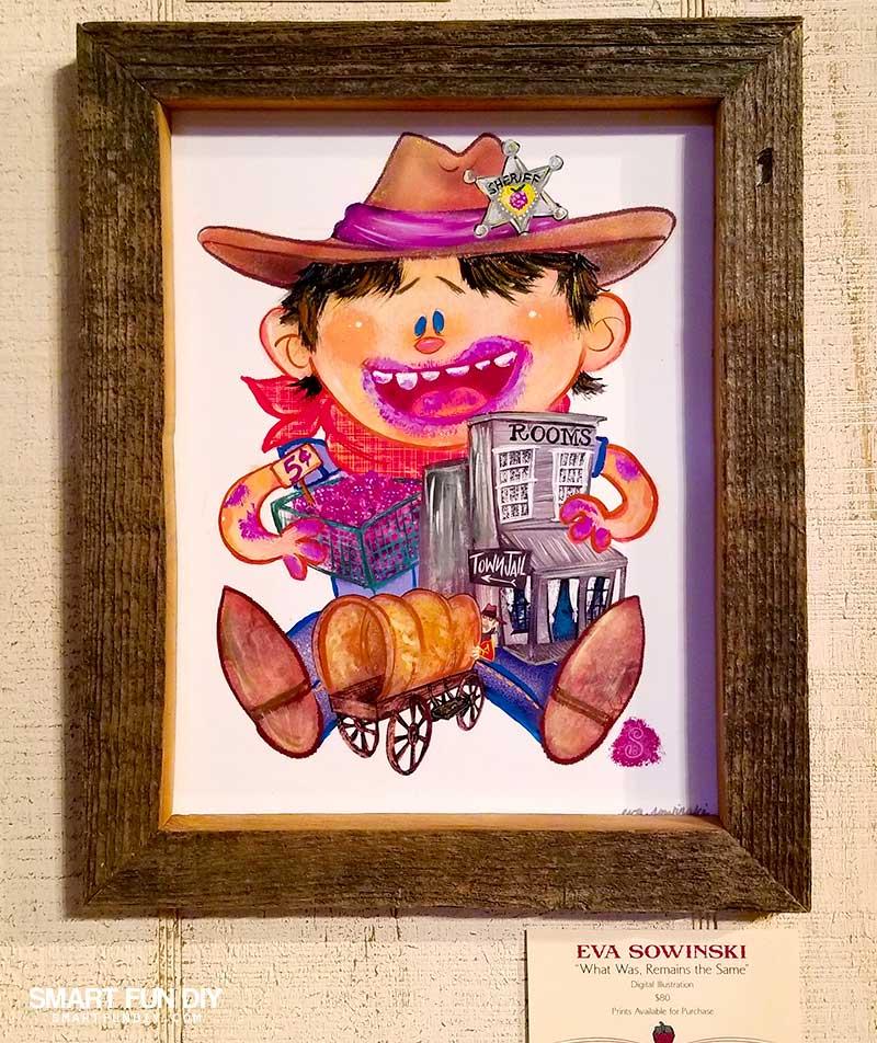 Boysenberry Art at Knott's Berry Farm