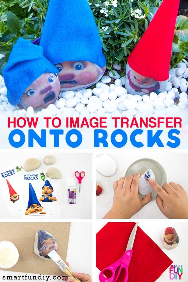How to make DIY Gnome rocks