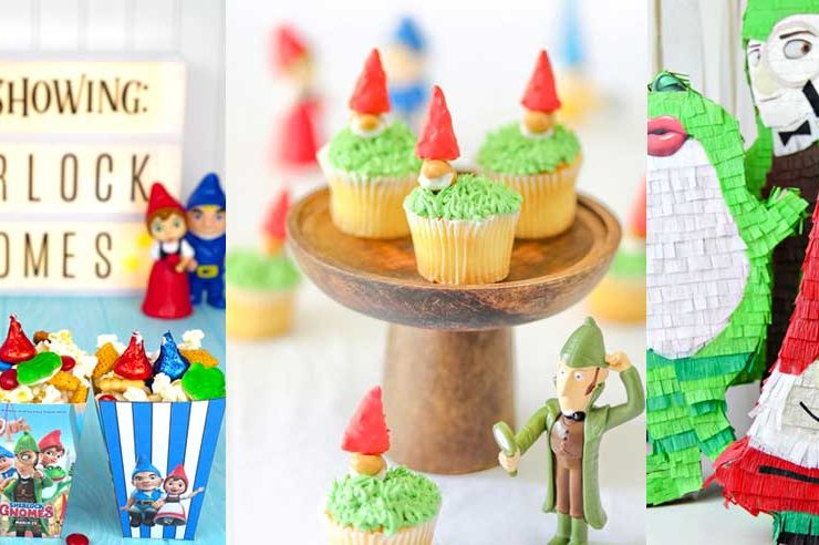 22 Gnome Craft Ideas – Sherlock Gnomes Gnomeo and Juliet Crafts