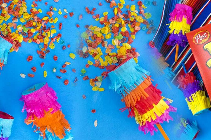 DIY Confetti Poppers for Cinco De Mayo
