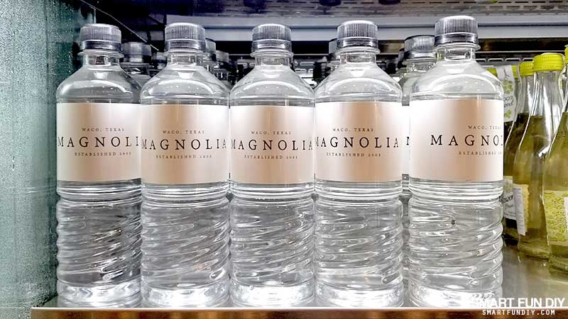 Magnolia water bottles