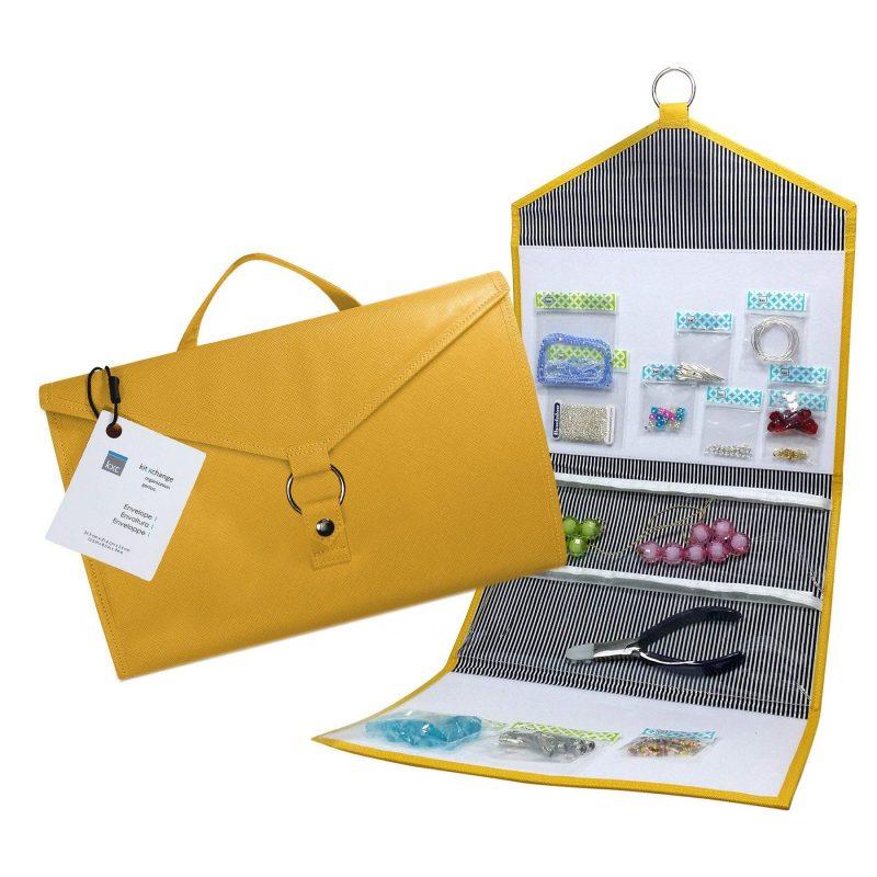 kitxchange yellow bead storage folder