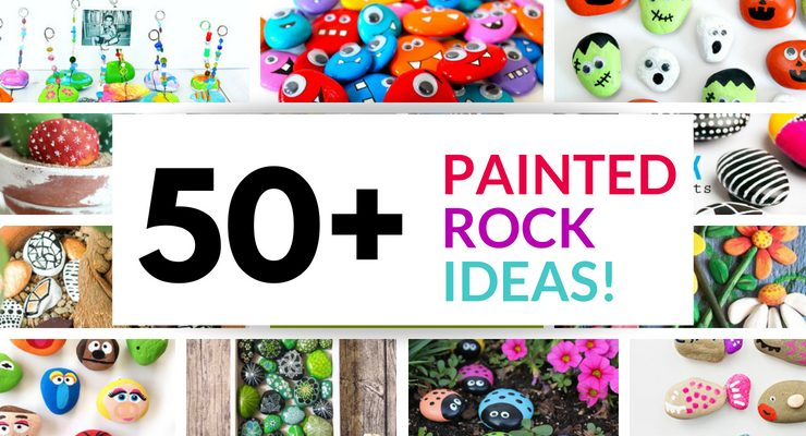 50+ rock painting ideas