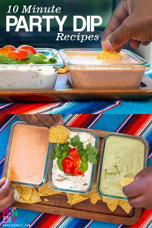 10 Minute Party Dip recipes Long Image