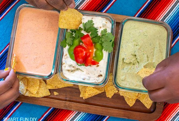 10 Minute Mexican Dip Recipes You Will Love! – 3 Party Dip Recipes!