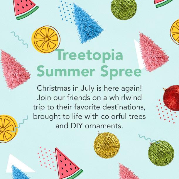 treetopia summer spree promotional image