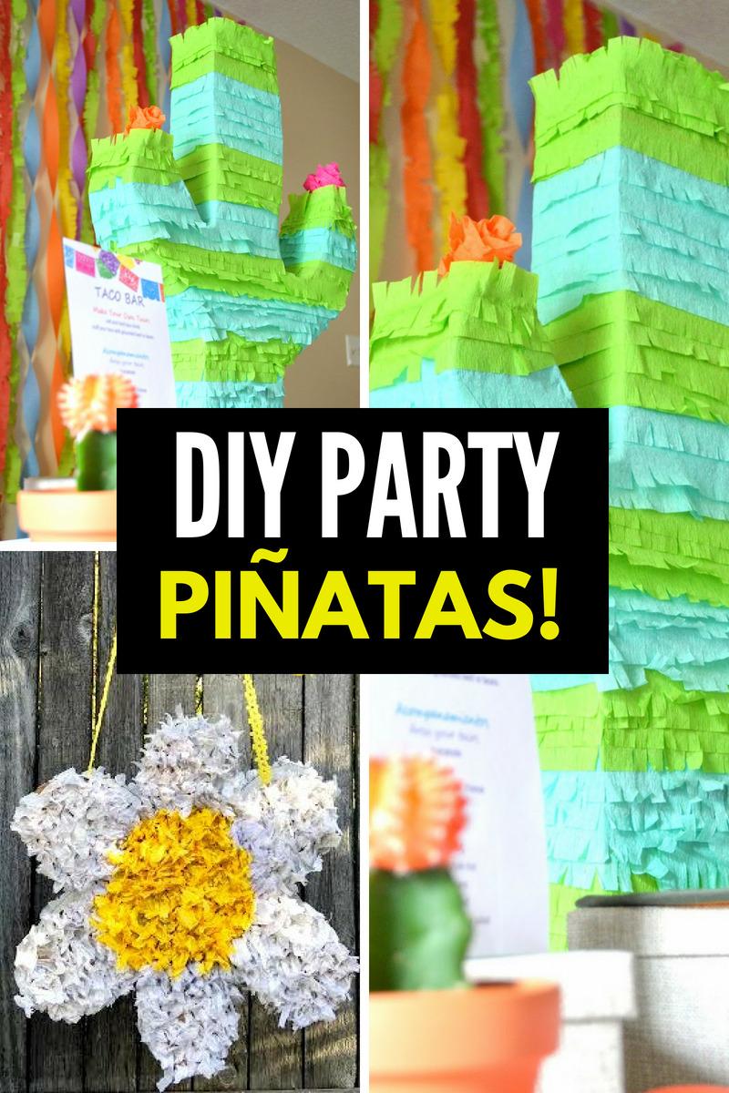 DIY Party Pinatas Smart Fun DIY