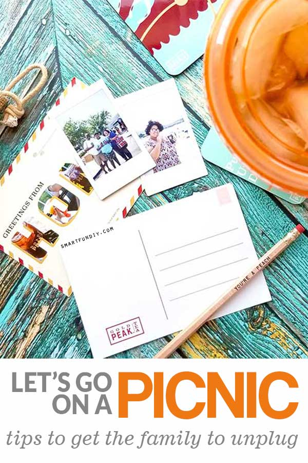 long pin image of picnic