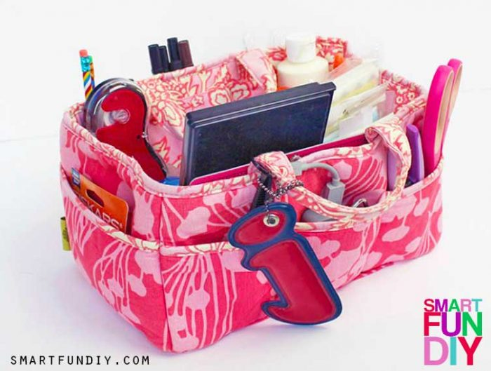 image of packed scrapbooking tote