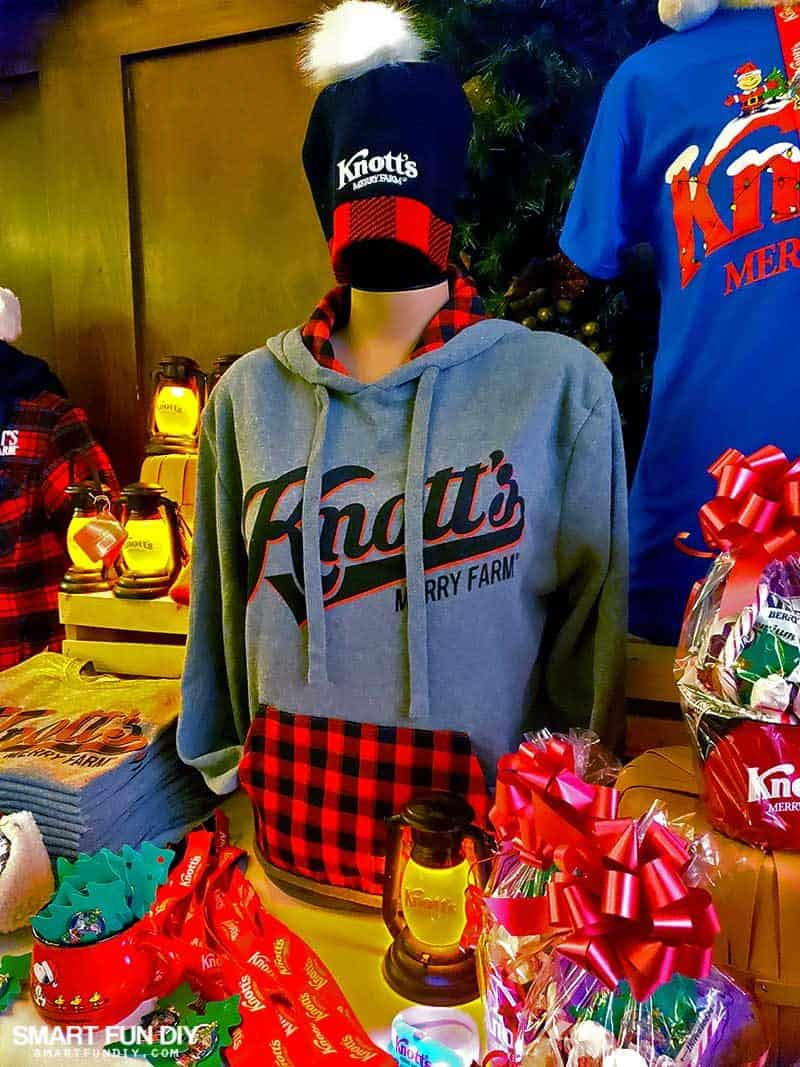 Buffalo Check Sweatshirt at Knott's Merry Farm