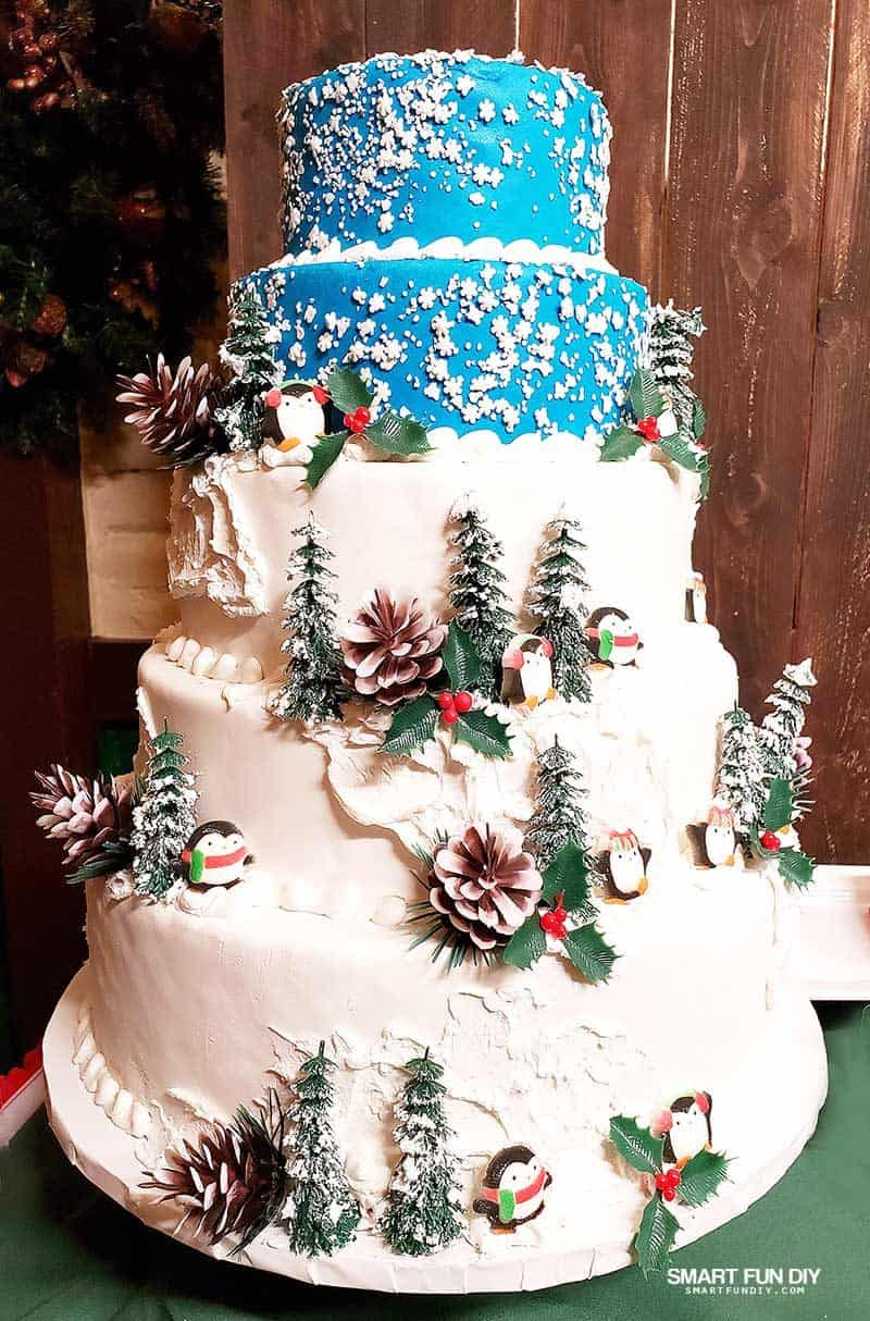 Christmas Cake at Knott's Merry Farm