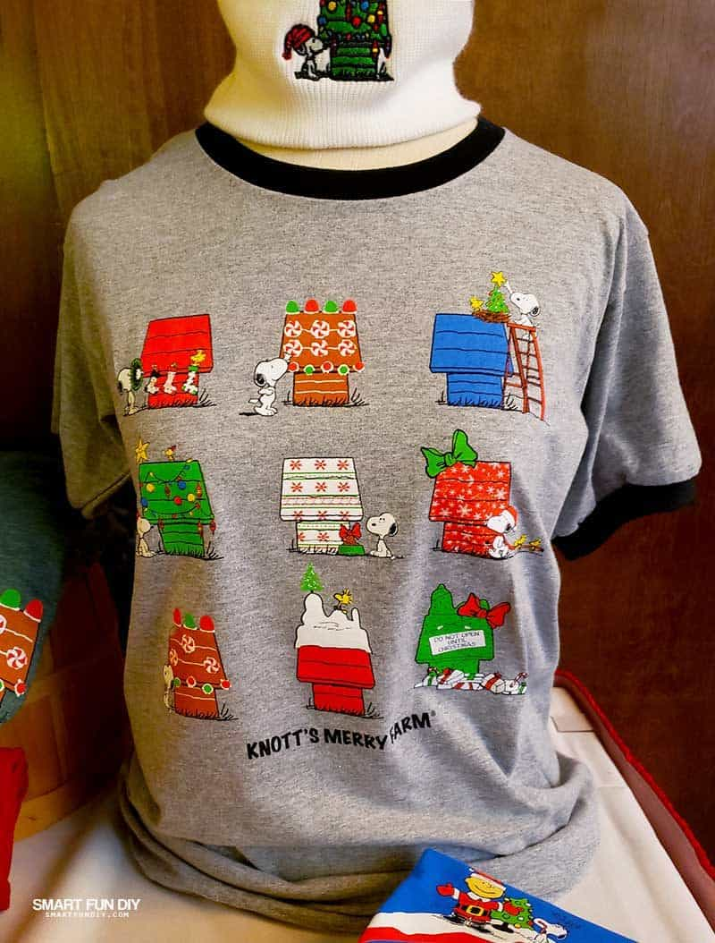 Snoopy House shirt at Knott's Berry Farm