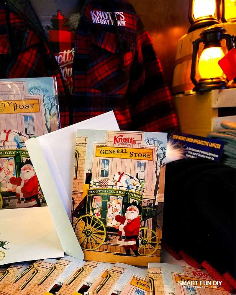 Knott's Merry Farm 2018 Commemorative Christmas Cards