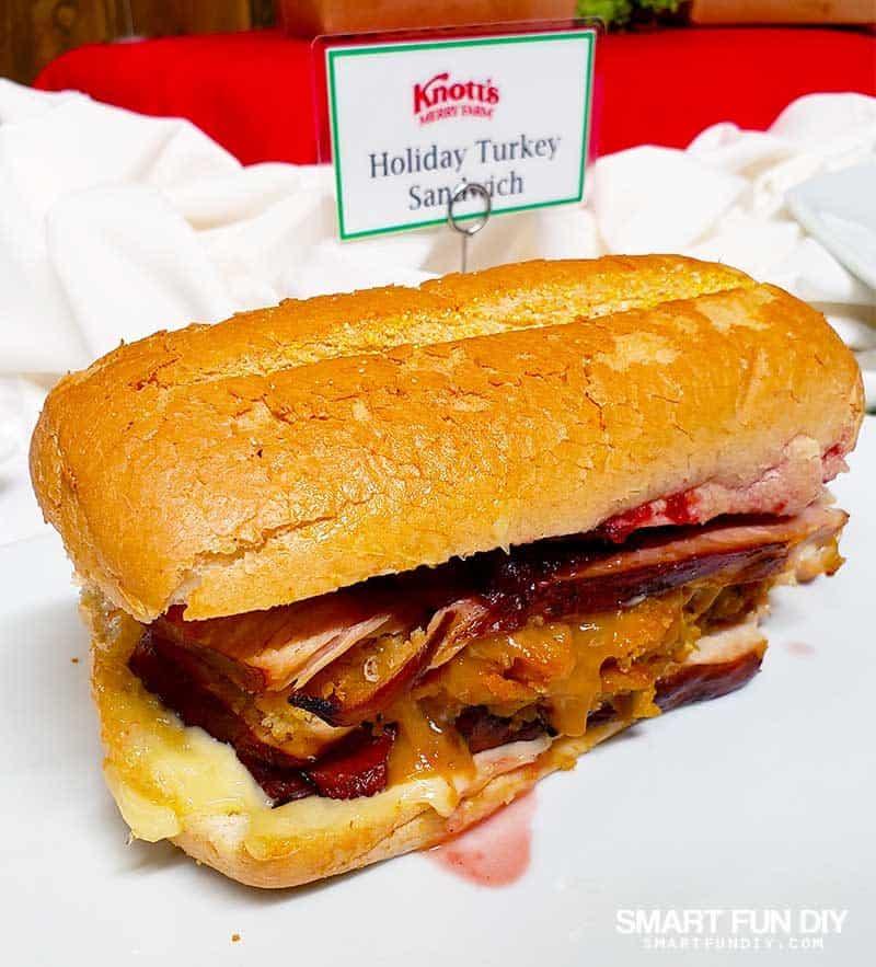 Holiday Turkey Sandwich