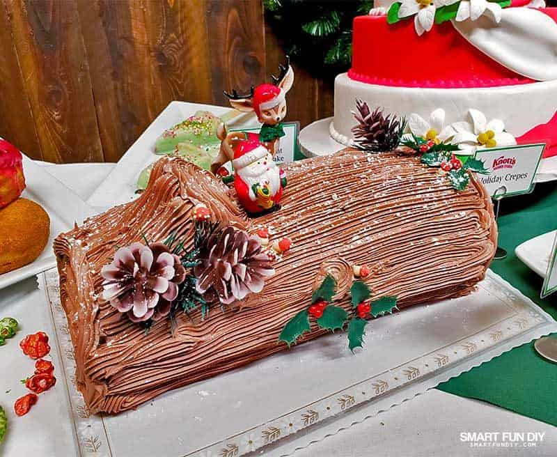 Yule Log at Knott's Merry Farm