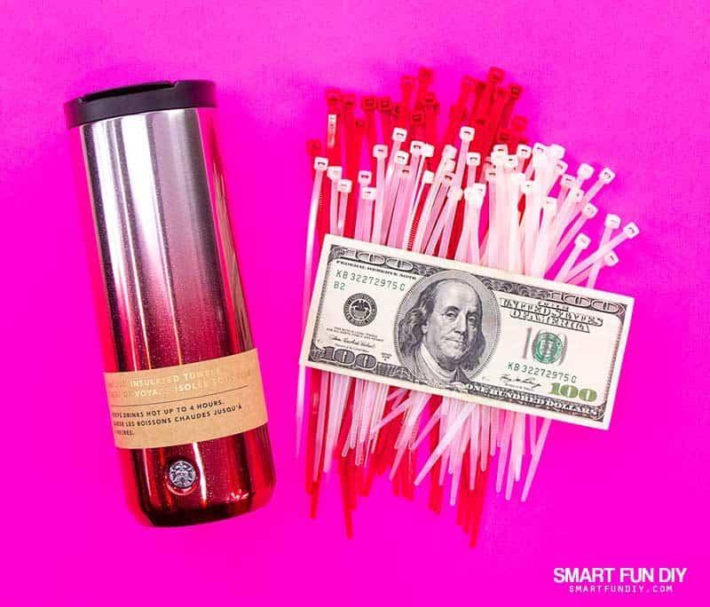 supplies for coffee mug money gift idea
