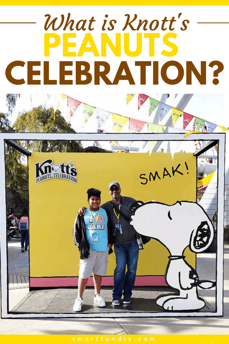 """""""What Is Knott's PEANUTS Celebration?"""" graphic"""