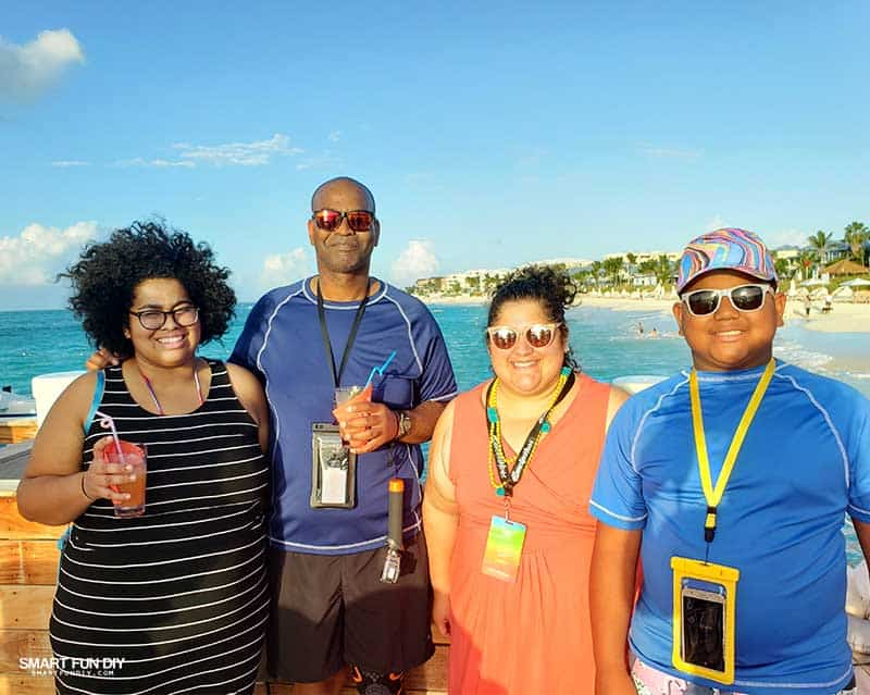 Family at Beaches Turks & Ciacos