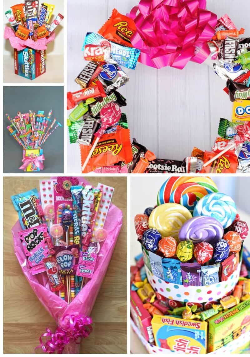 43 Creative Candy Gift Ideas