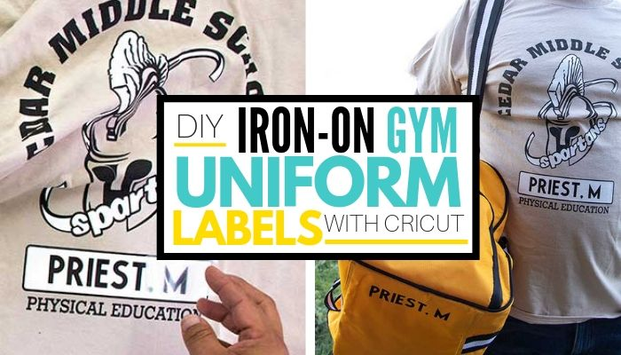 How to label school gyn clothes     that won't wash off!
